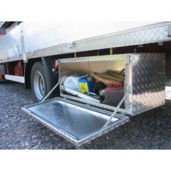 Aufbruchsichere Unterflurboxen aus Aluminium