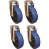 Aluboxen Alutec Rädersatz für Riffelblechboxen